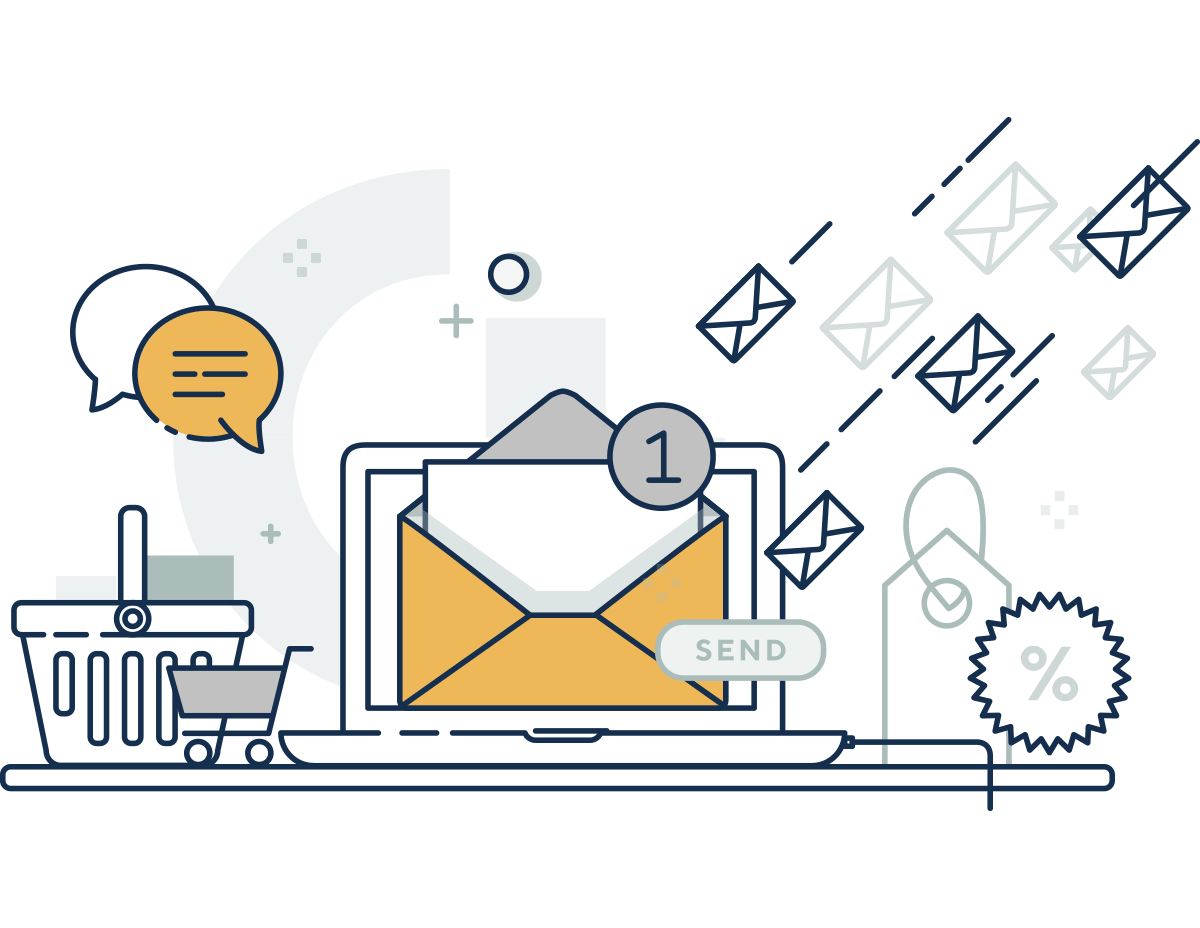 OneLine header email marketing